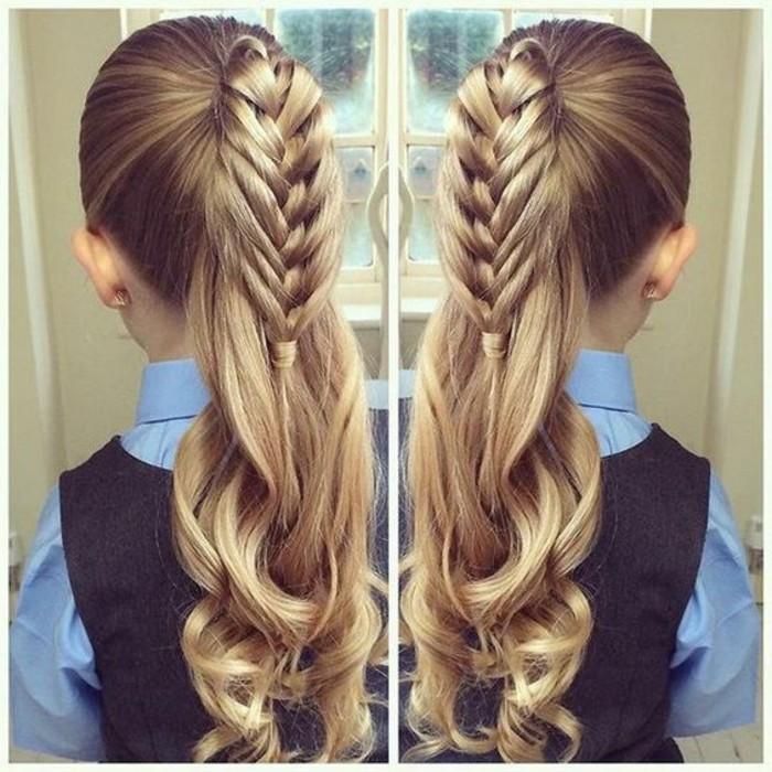 jolie-tresse-en-cage-parfaite-suggestion-coiffure-petite-fille-mariage-tres-creative