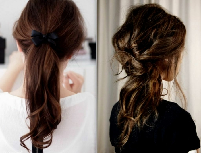 coiffure élégante facile