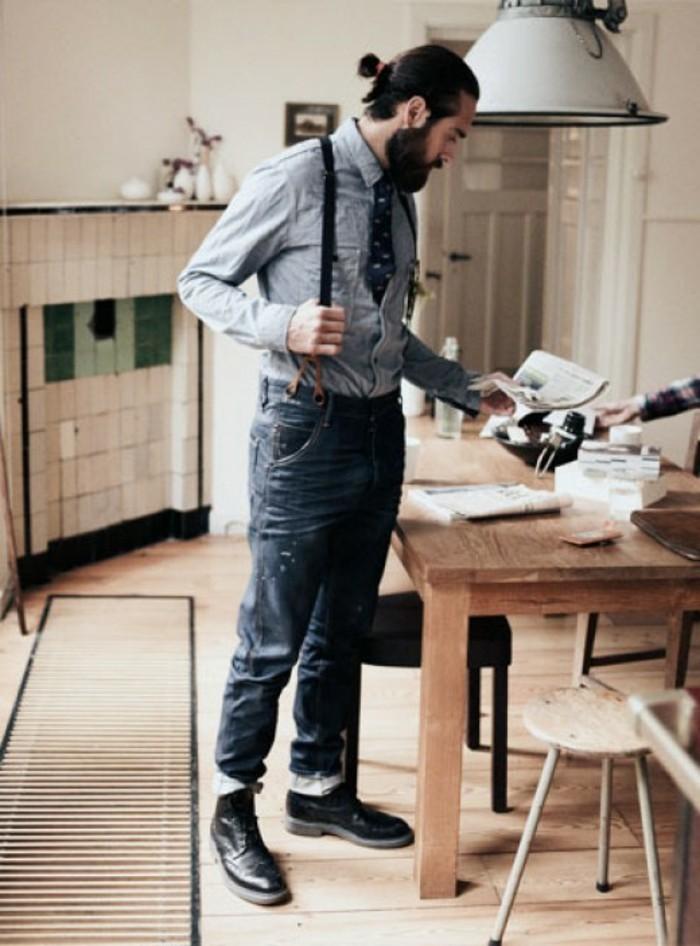 la-beauté-pantalon-à-bretelles-homme-comment-porter-la-cuisine