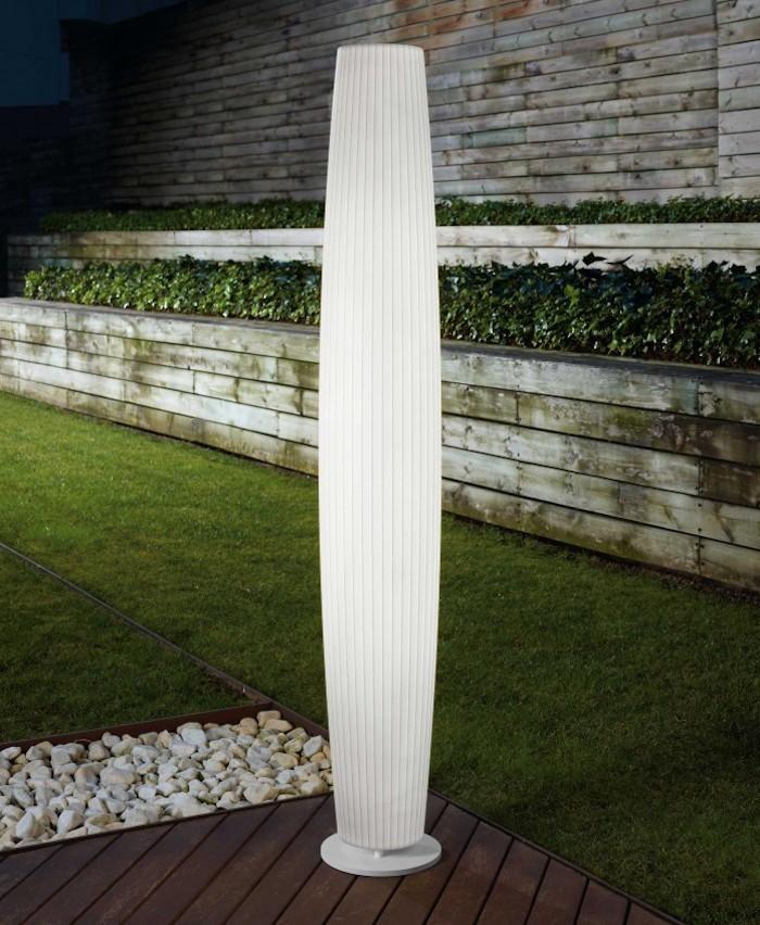 Lampadaire exterieur design 42 id es lumineuses for Lampadaire exterieur