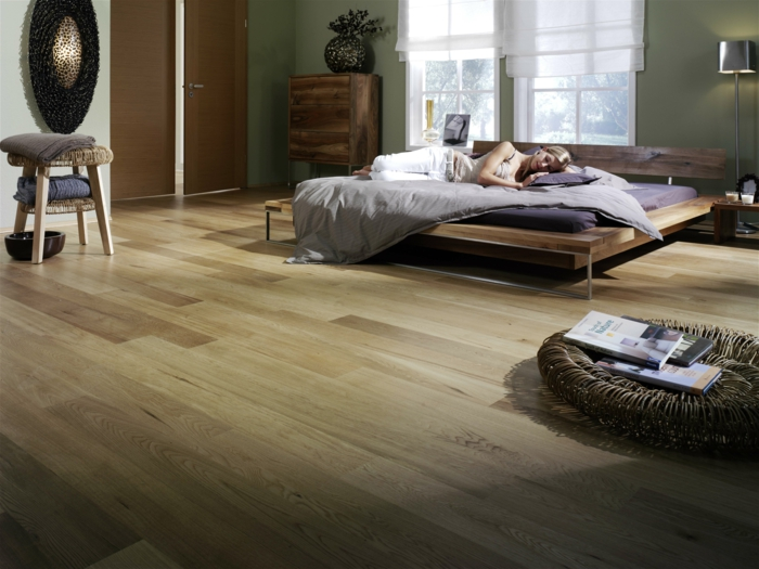 le parquet flottant 50 id es comment le r aliser. Black Bedroom Furniture Sets. Home Design Ideas