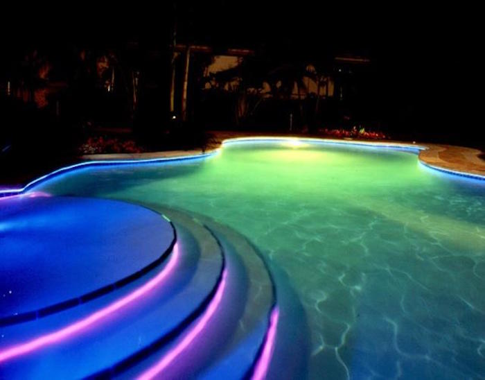 lumiere-escalier-piscine-spots-led