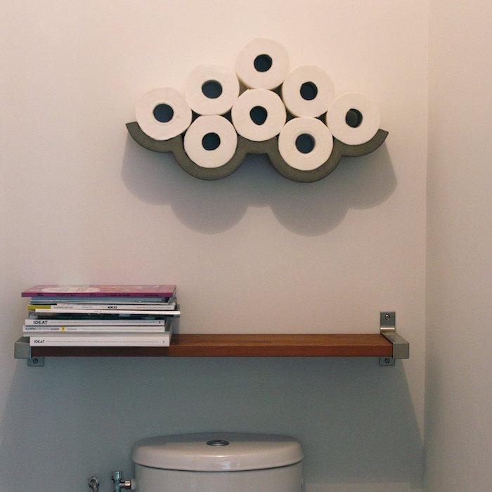 ✿ ▷ 1001+ idées   Étagère WC – 40 modèles pour trouver le meuble idéal