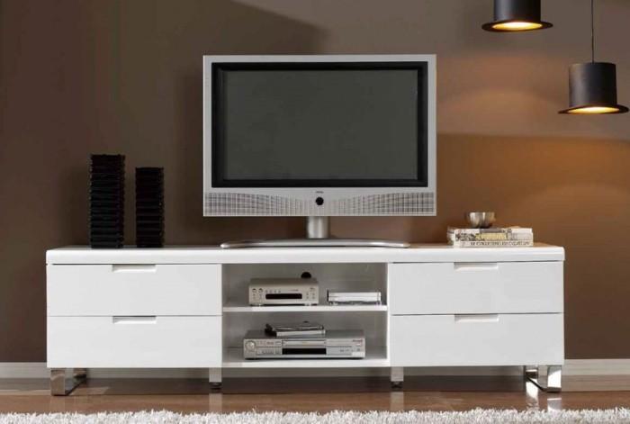Construire un meuble tv moderne - Fabriquer un meuble tv suspendu ...
