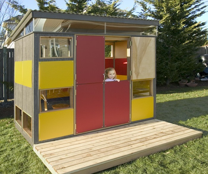 Maisonnette en bois enfant 60 jolies demeures pour les for Modern house roleplay