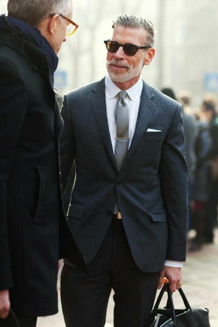 meilleur costume cravate costume blanc homme moderne - Meilleure Coloration Cheveux Blancs