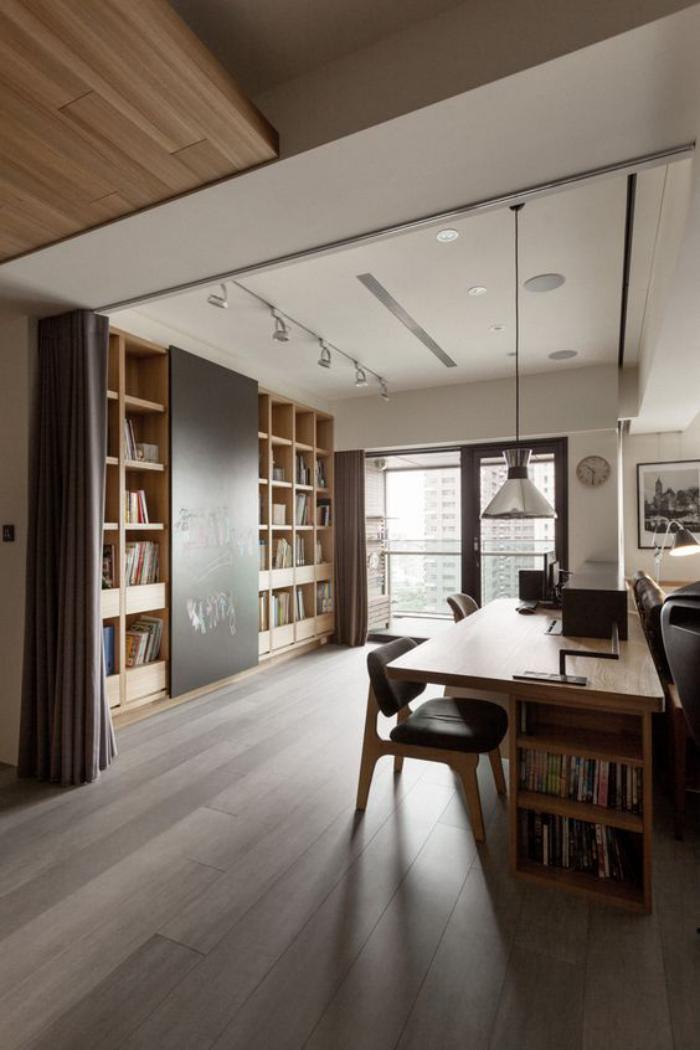 meuble-bureau-design-elegant-bureau-bois-avec-rangement