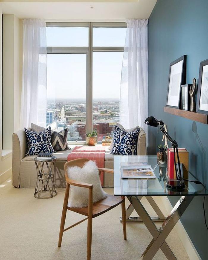 Choisissez un meuble bureau design pour votre office la maison - Bureau design verre metal ...