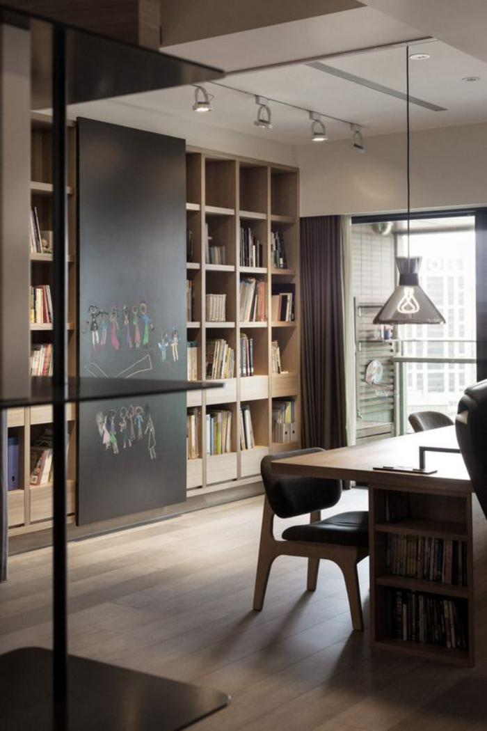 Choisissez un meuble bureau design pour votre office la for Meuble bureau en bois