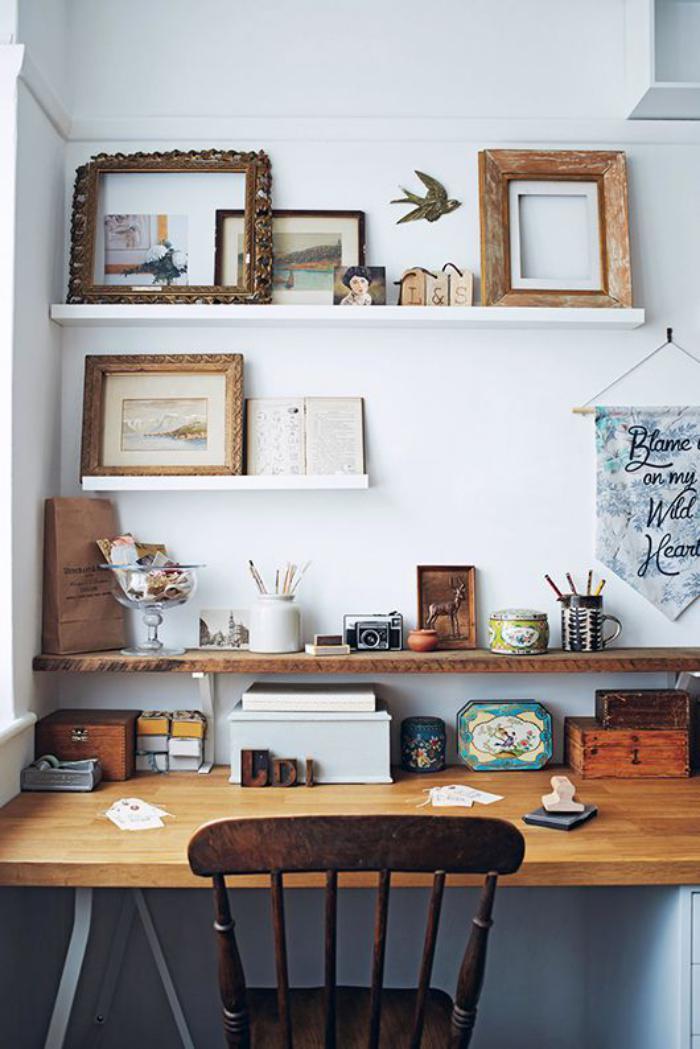 Choisissez un meuble bureau design pour votre office la for Meuble bureau etagere