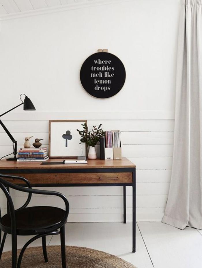 Choisissez un meuble bureau design pour votre office la for Bureau sympa