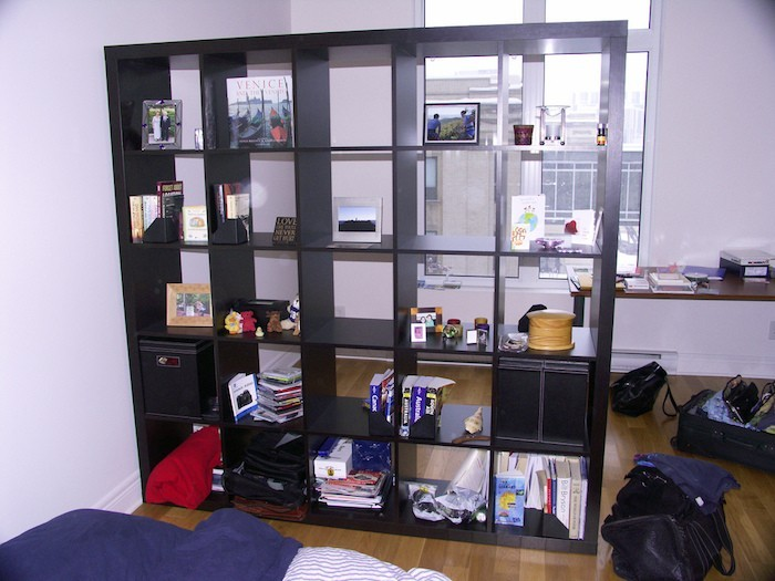 Meuble separation piece ikea id es de conception sont int r - Etagere de separation ikea ...