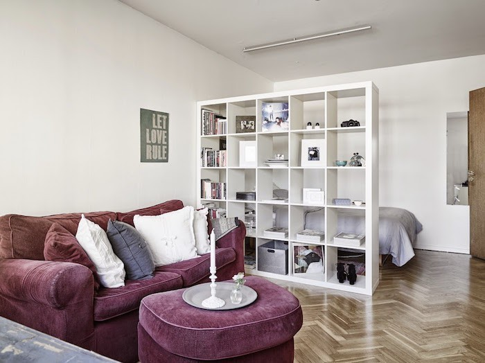 meuble-de-separation-ikea-kallax-bibliotheque-salon