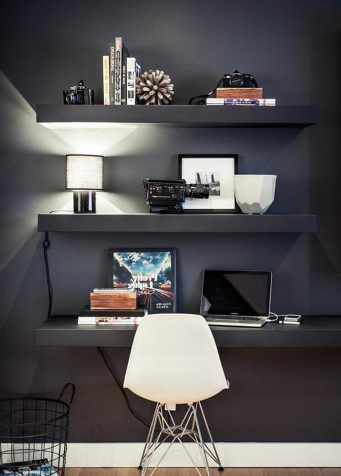 meuble-informatique-chaise-blanche-gris-murs