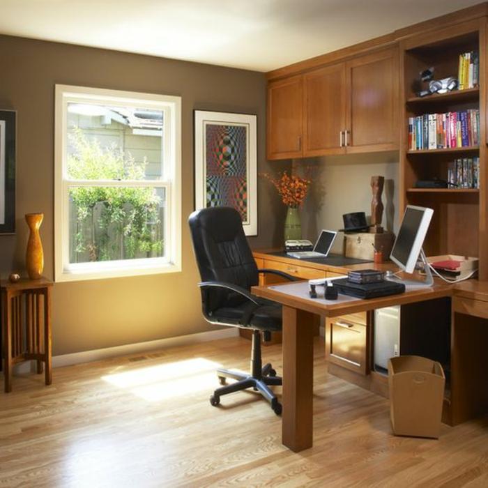 meuble-informatique-fenetre-chaise-livres