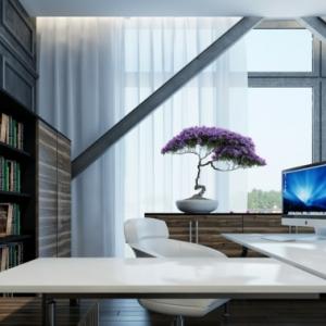 Le meuble informatique - 80 idées magnifiques en photos