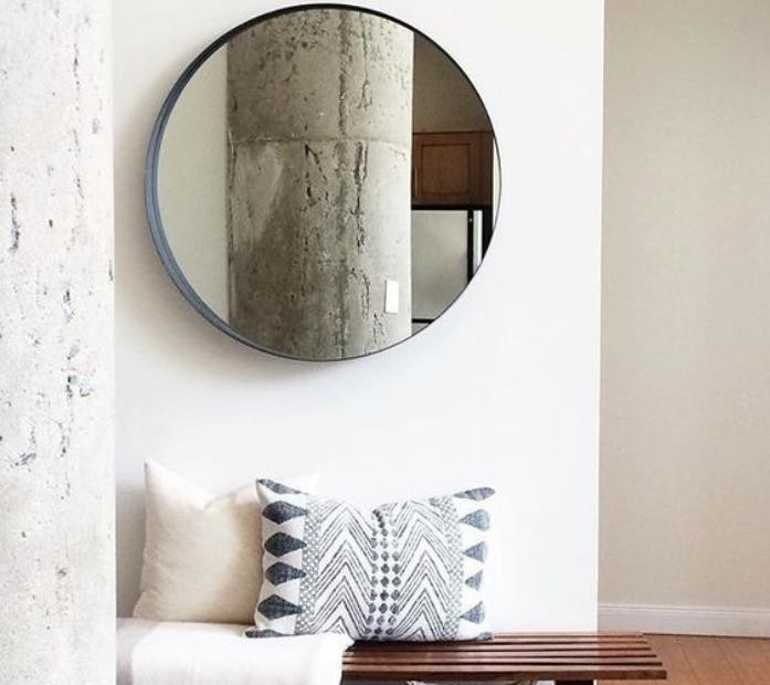 Quel miroir d 39 entr e choisir pour son int rieur jolies for Miroir rond entree