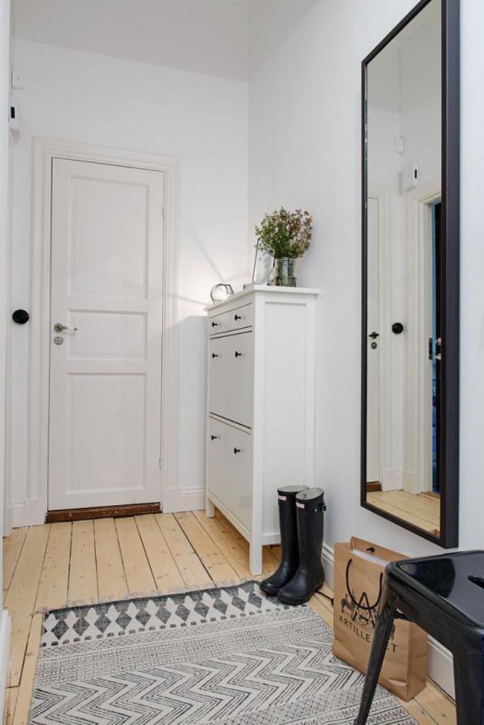 miroir pour hall d'entree
