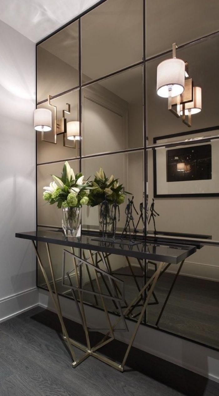 Quel miroir d 39 entr e choisir pour son int rieur jolies id es en photos - Mur de miroir ...