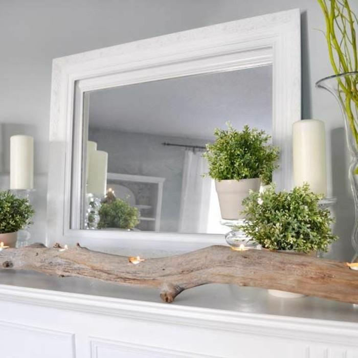 miroir-grand-format-bois-fleur-vert-carde-blanc-moderne