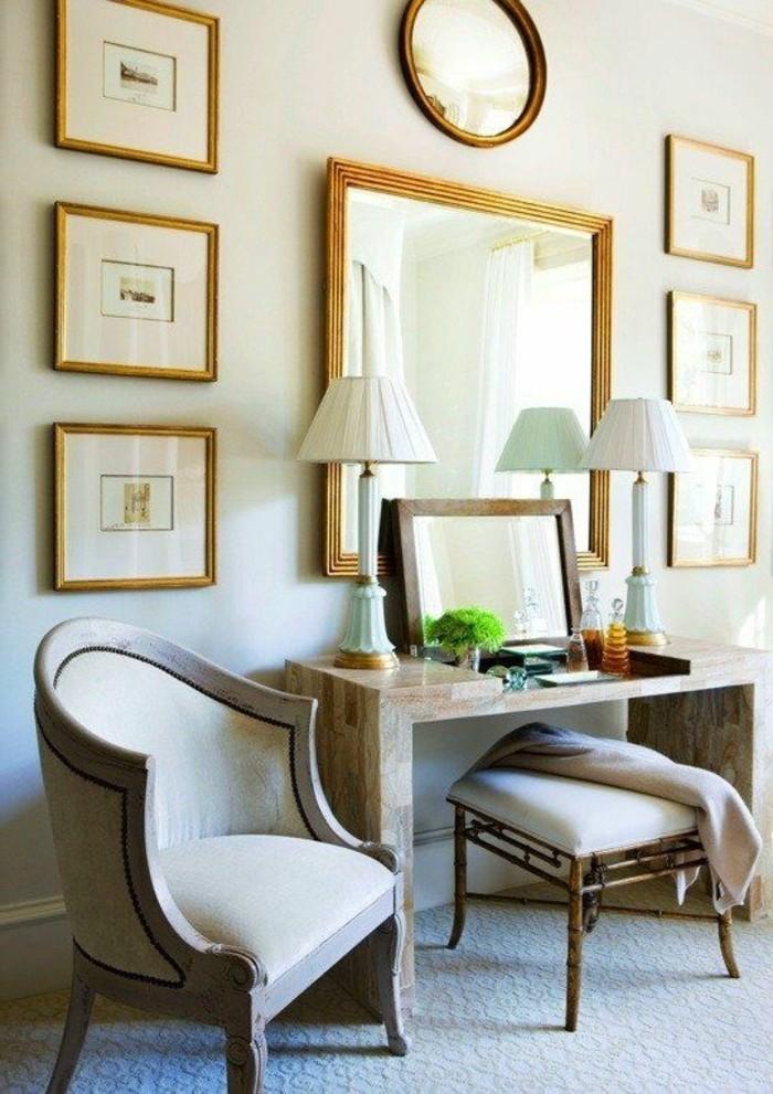 miroir-grand-format-fauteuil-photographie-tabouret-lumineux-mur-salle