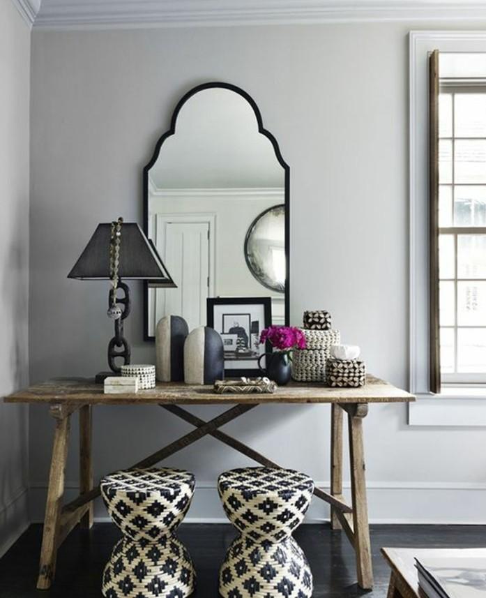 miroir-grand-format-gris-lampe-toilette-table-tabouret