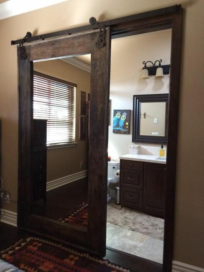 miroir-grand-format-porte-salle-cadre-marron