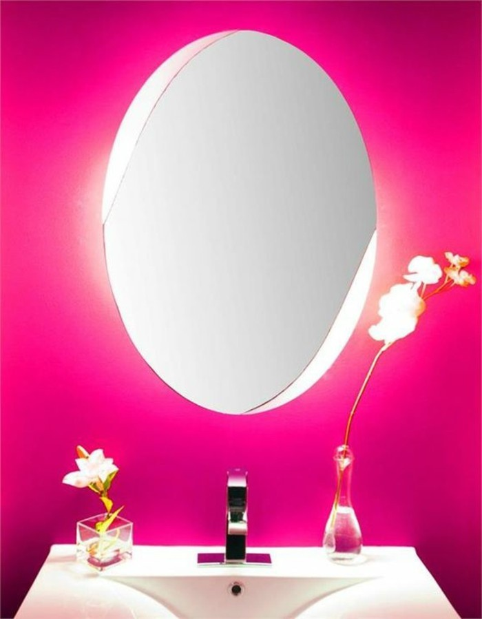 76 id es avec un miroir grand format for Miroir rond grand format