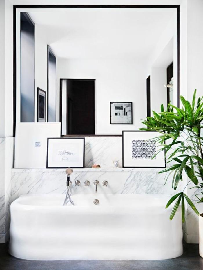 miroir-grand-format-vert-fleur-carre-salle