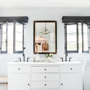 Le miroir salle de bain - élément clé de la décoration