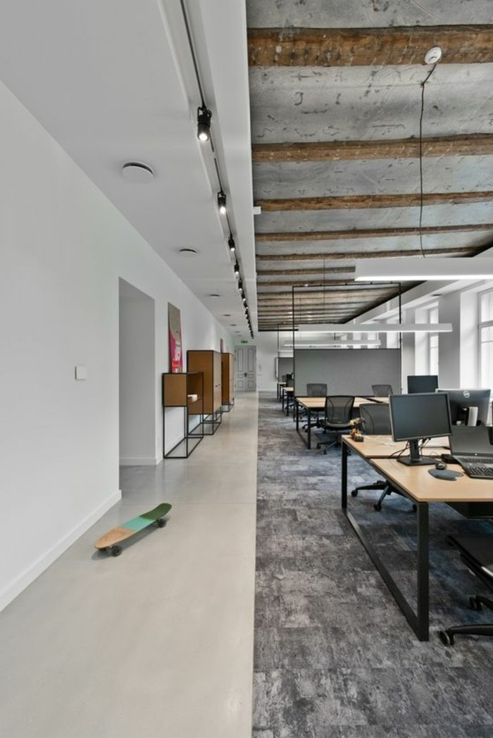 mobilier bureau industriel maison design