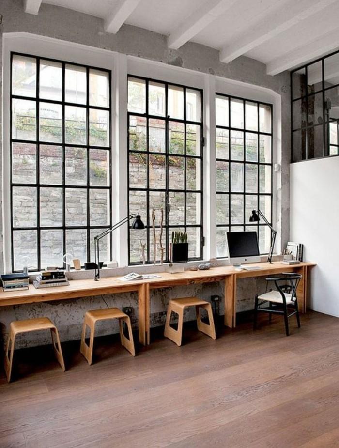 mobilier-de-bureau-contemporain-bureaux-longs-en-bois