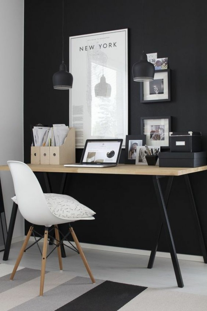mobilier-de-bureau-contemporain-decoration-de-bureau-monochromatique