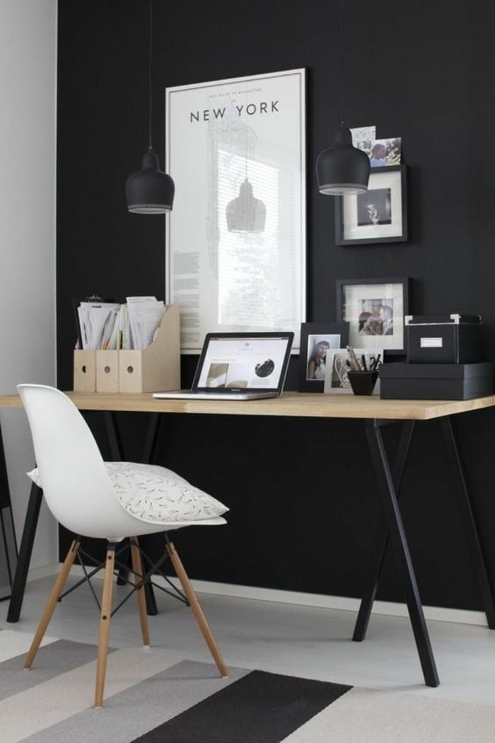 mobilier-de-bureau-contemporain-decoration-de-bureau-monochromatique