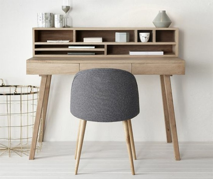 Le mobilier de bureau contemporain 59 photos inspirantes for Grand bureau en bois