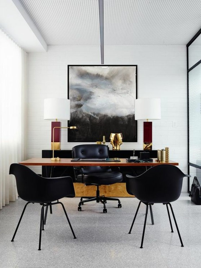 Le mobilier de bureau contemporain 59 photos inspirantes for Bureau professionnel design