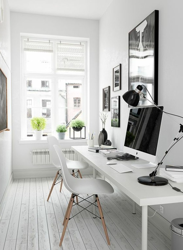 le mobilier de bureau contemporain 59 photos inspirantes. Black Bedroom Furniture Sets. Home Design Ideas