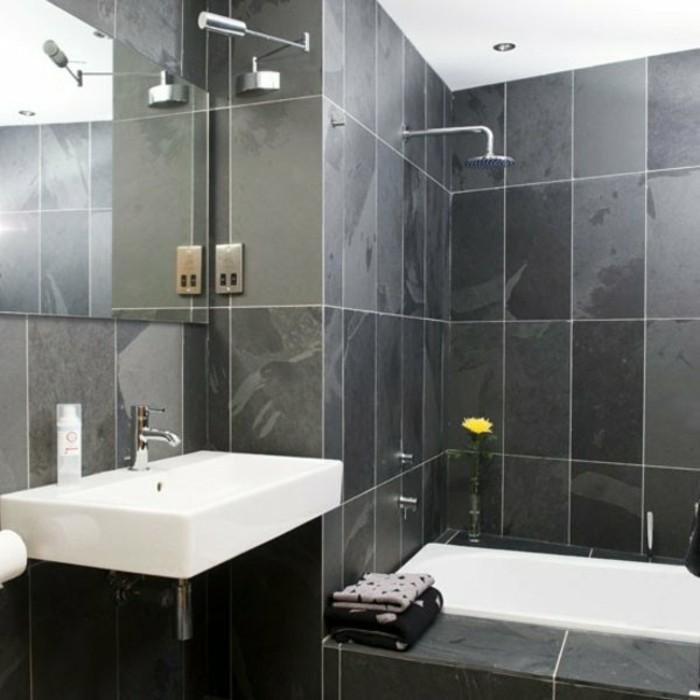 mur-en-carrelage-gris-anthracite-petit-miroir-design-mural-idee-salle-de-bain-petite-surface