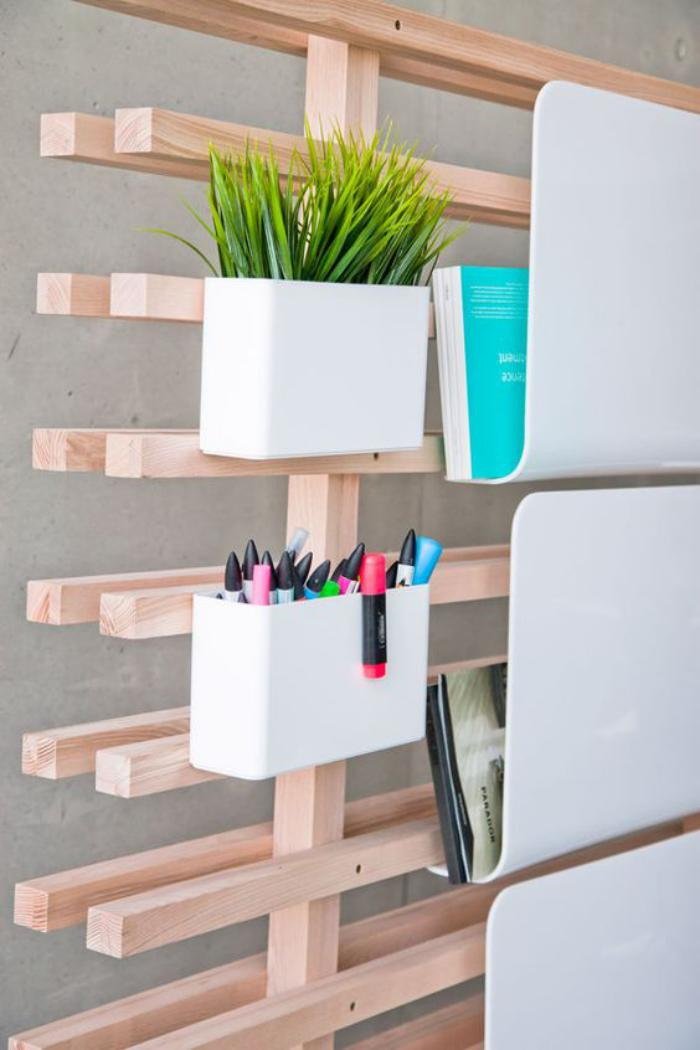 l 39 organisateur de bureau en 51 photos. Black Bedroom Furniture Sets. Home Design Ideas