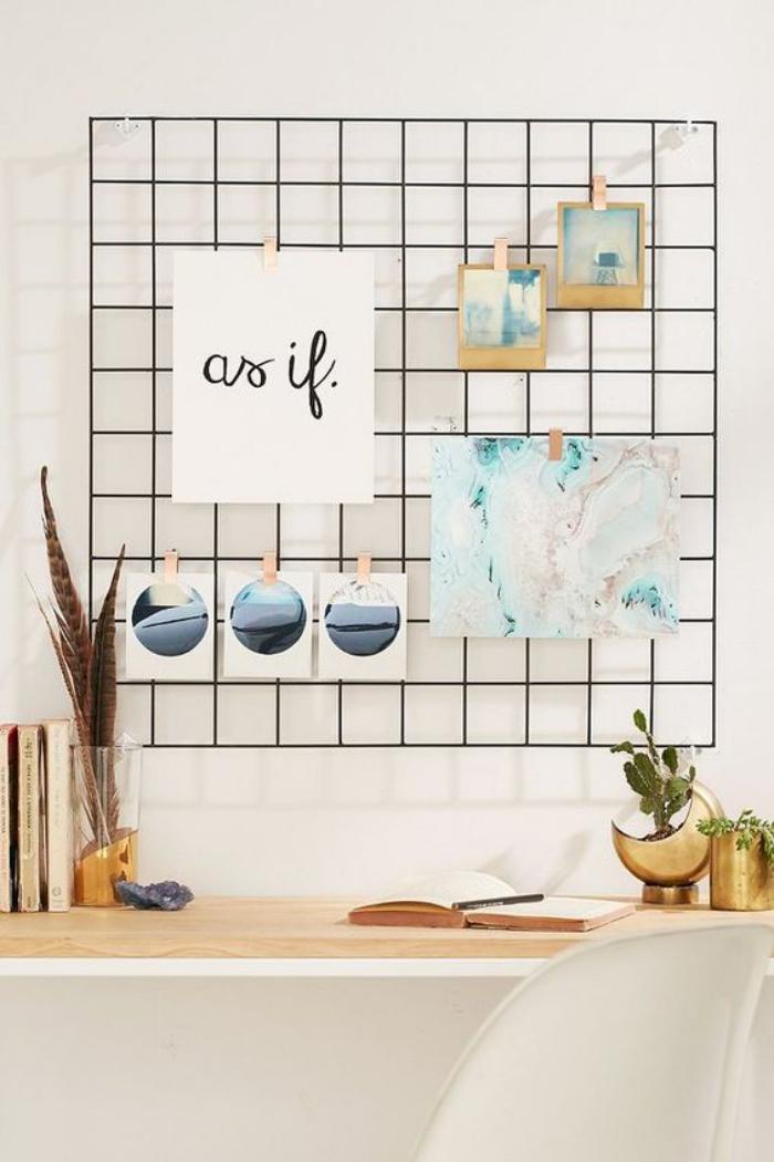organisateur-de-bureau-joli-grillage-mural-pour-organiser-son-bureau