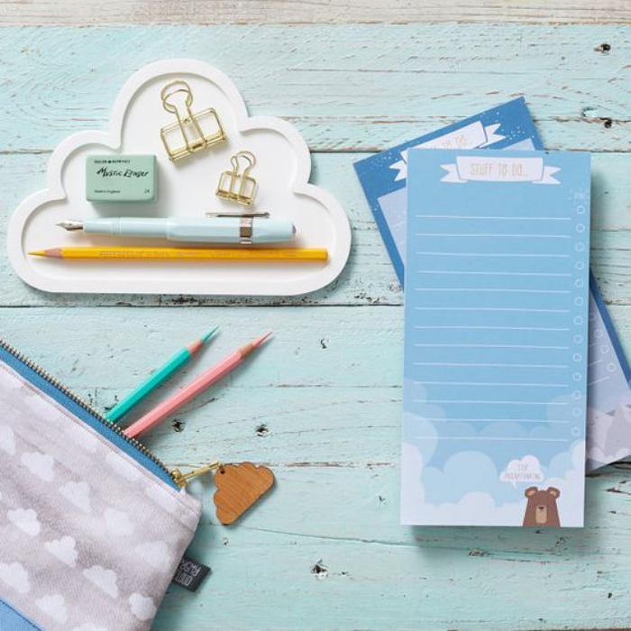 organisateur-de-bureau-nuage-blanc-rangement-original