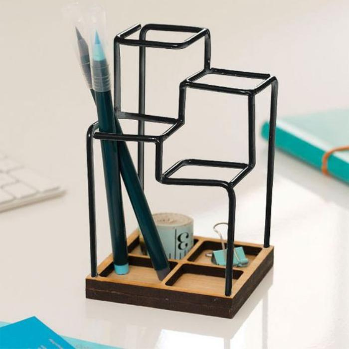 organisateur-de-bureau-pot-stylos-original