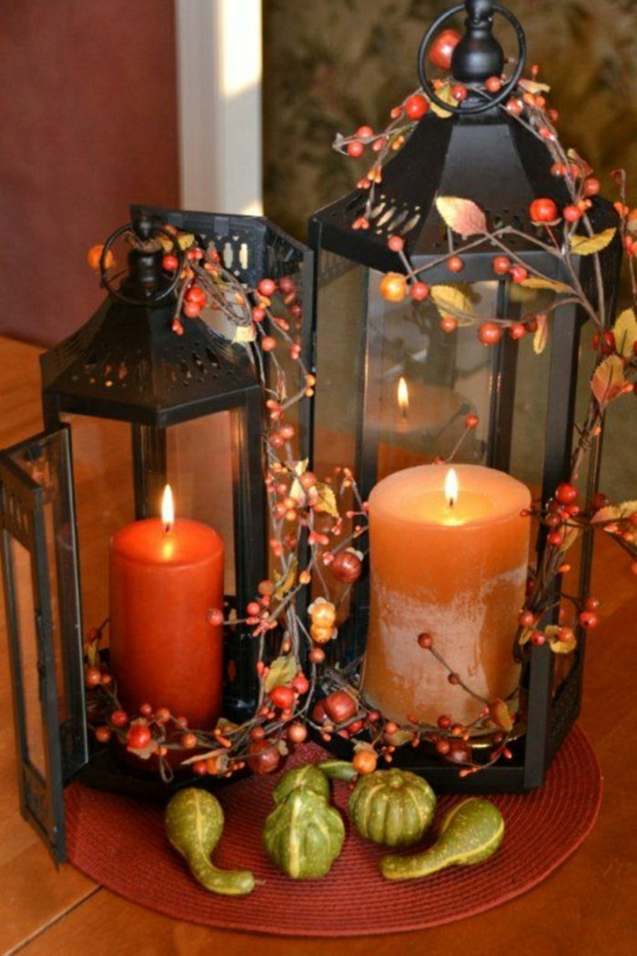 originale-deco-table-halloween-bougies-oranges-deco-halloween-table-lanterne
