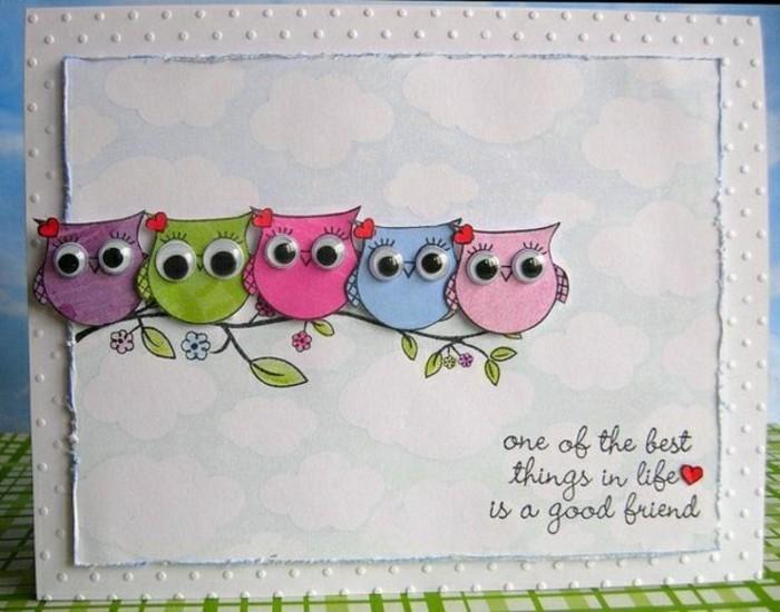 originale-idee-pour-cartes-voeux-gratuites-oiseaux-colores-idee-pour-carte-voeux-personnalisee