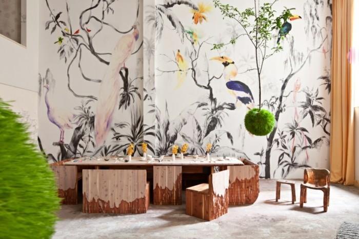 Decoration murale geante id es conseils et combinaisons en photo for Poster mural paysage pas cher