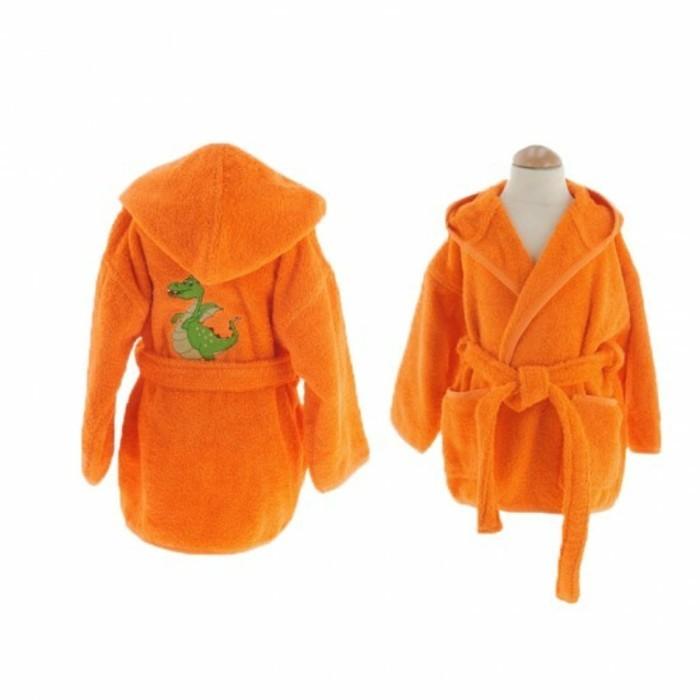 peignoir-bain-enfant-orange-avec-un-dragon-la-compagniedublanc-resized