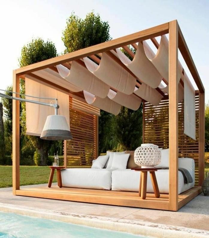 pergola-bois-avec-toile-pergola-un-vrai-paradis-de-la-detente-convenable-pour-l-exterieur-d-une-maison-moderne