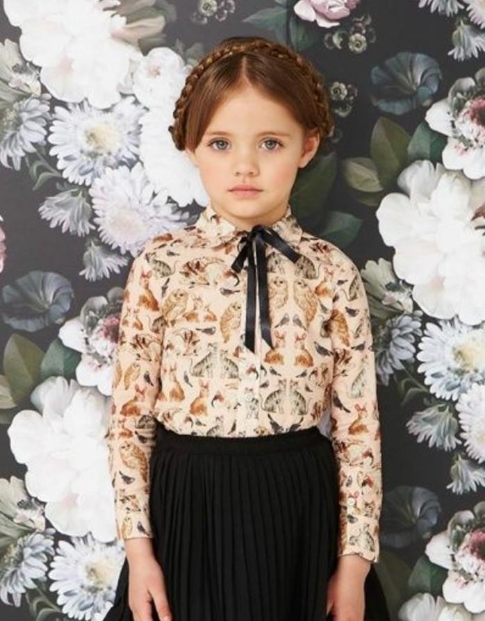 Coiffure Petite Fille - 90 Idu00e9es Pour Votre Petite Princesse