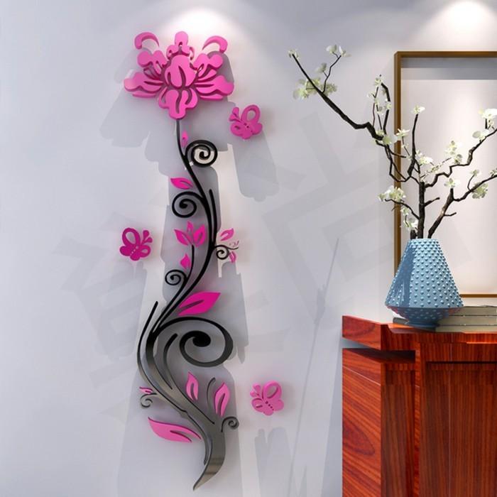 decoration murale geante id es conseils et combinaisons en photo. Black Bedroom Furniture Sets. Home Design Ideas