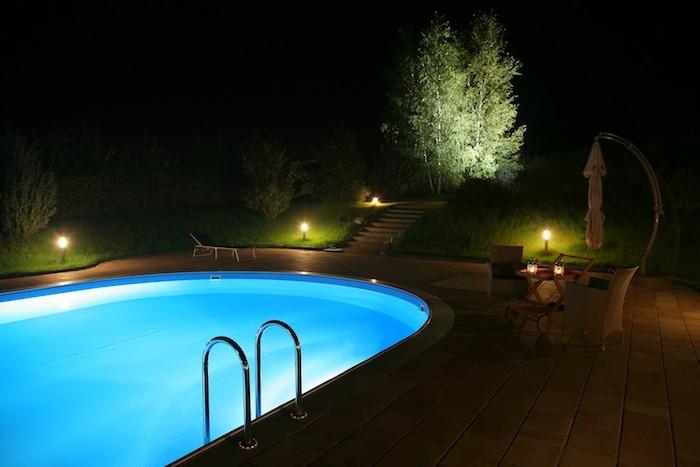 éclairage-jardin-éclaier-piscine-projecteur-led-spot